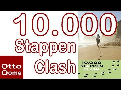 10.000 Stappen Clash - Tutorial Website en App - YouTube