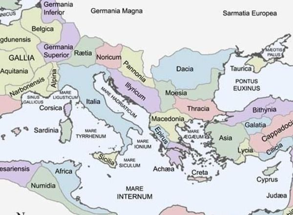 Looking for a map of the Roman Empire to help your teaching of Ancient history?  	Found one!