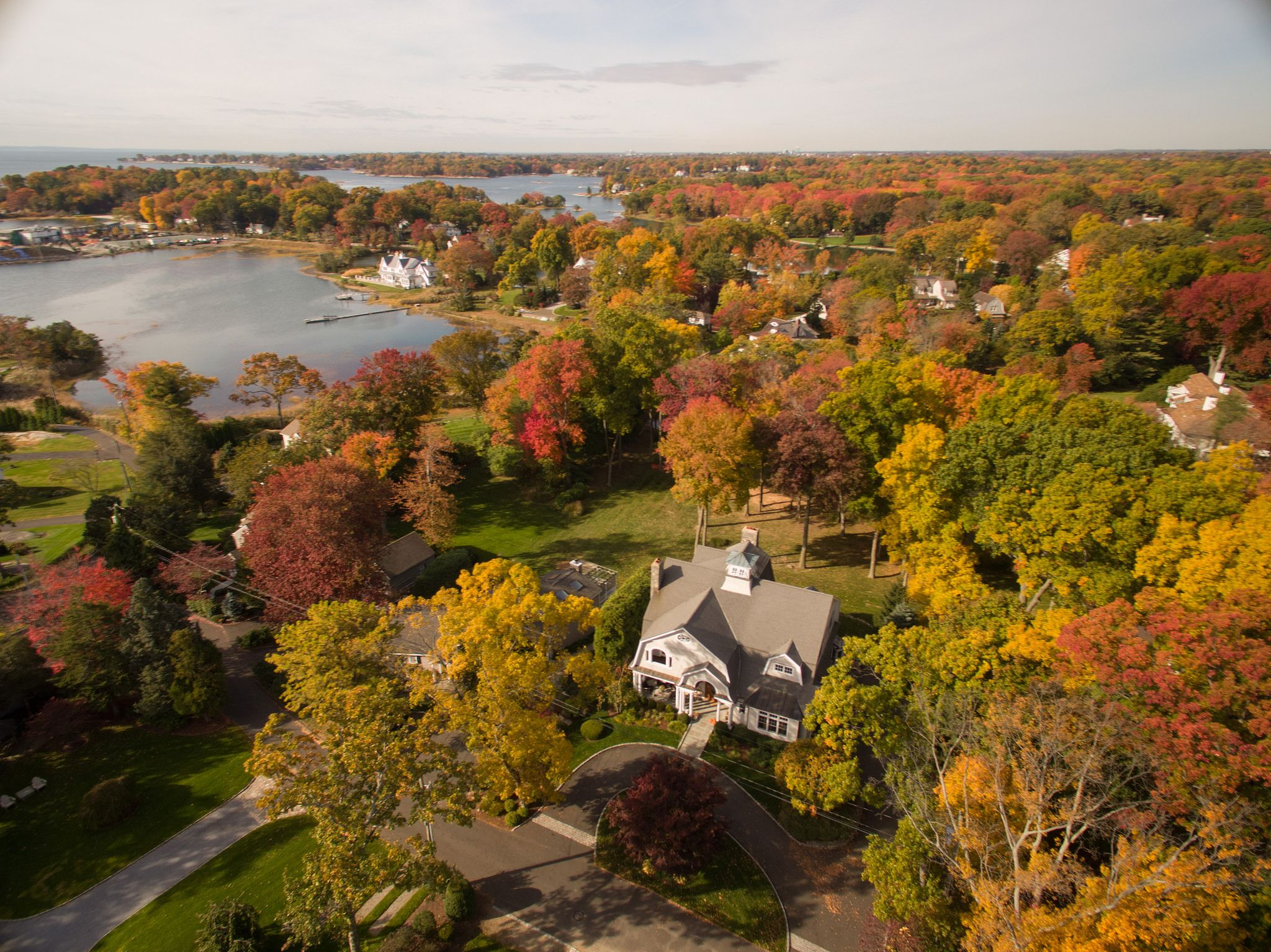 Fabulous Colonial With Water Views ... 134 Five Mile River Road, Darien CT. Represented by Jill Keating Brannigan. To see more eye candy on this home go to https://www.halstead.com/sale/ct/darien/134-five-mile-river-road/house/99143828