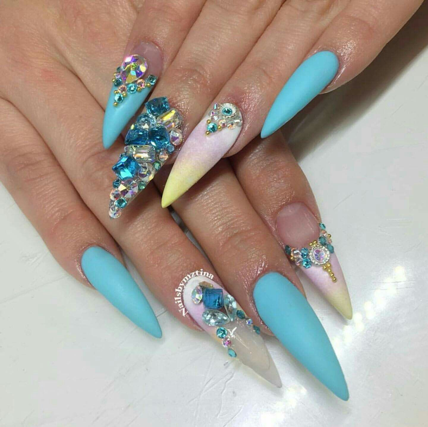 Love the design, not crazy about the length | Uniquely Nailed ...