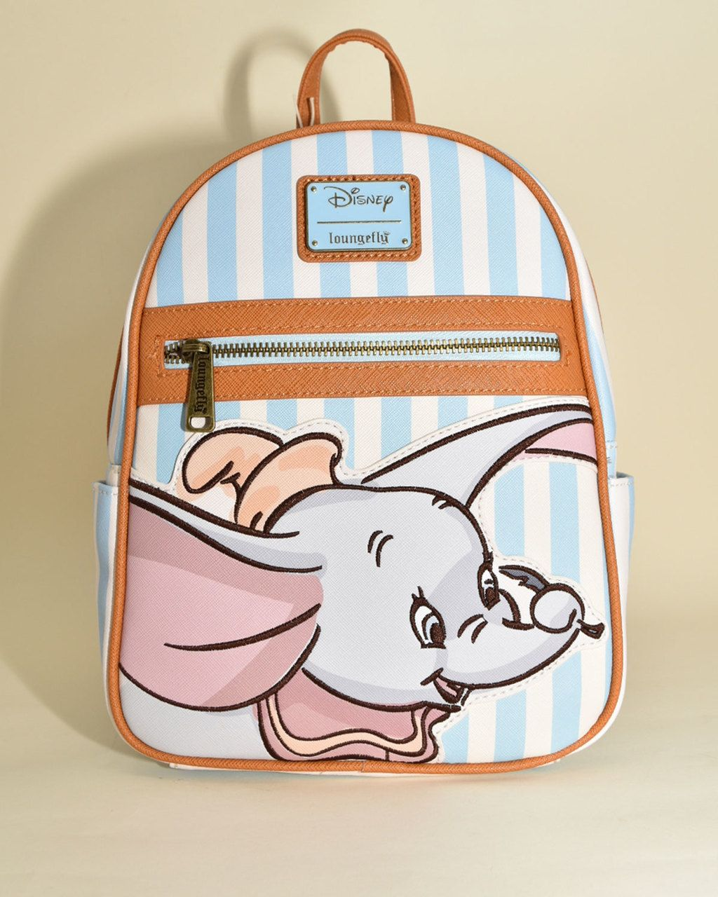 b3dc4ddafa5 Loungefly x Disney's Dumbo Striped Faux Leather Mini Backpack - Sidecca