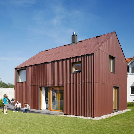 Bru 1 25 By Soho Architektur With Images House Cladding Architecture Roof Architecture