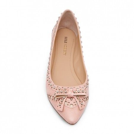 Sole Society - Pointed toe flats - Marigold - Powder Rose