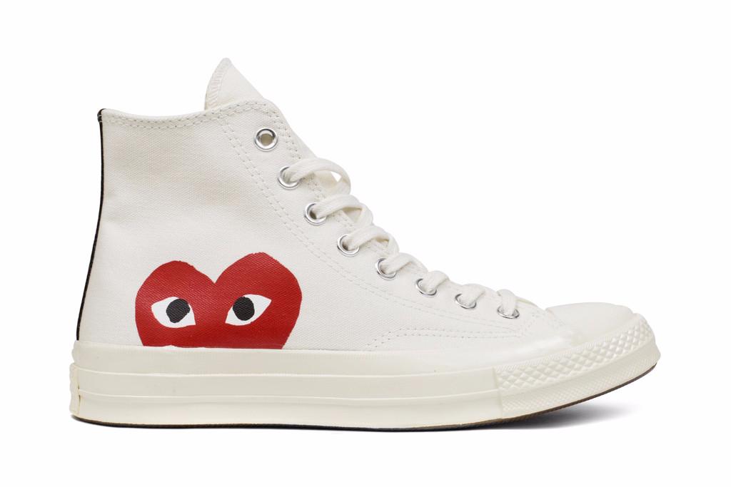 Comme Des Garcons Converse Feature Sneakers, Converse