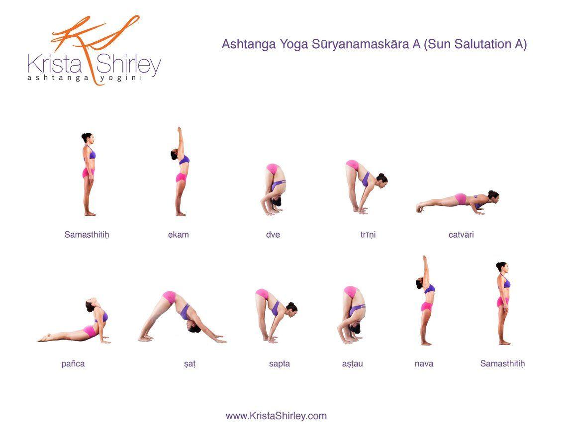 Ashtanga Yoga Poster Primary Series Intermediate Series | Etsy