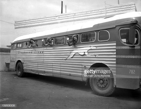 Image Result For Old Greyhound Bus Interior With Images