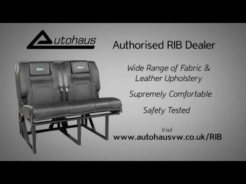 Best Rib Altair Bed Seat For Vw T4 T5 T6 Campervans Youtube 640 x 480