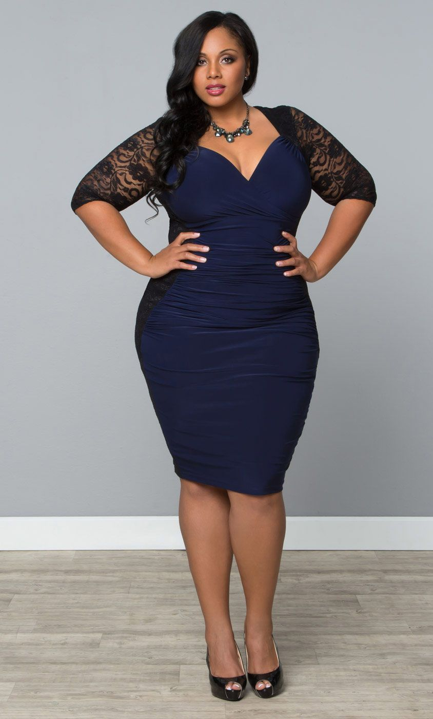 Show off those sexy curves in kiyonnaus plus size valentina illusion