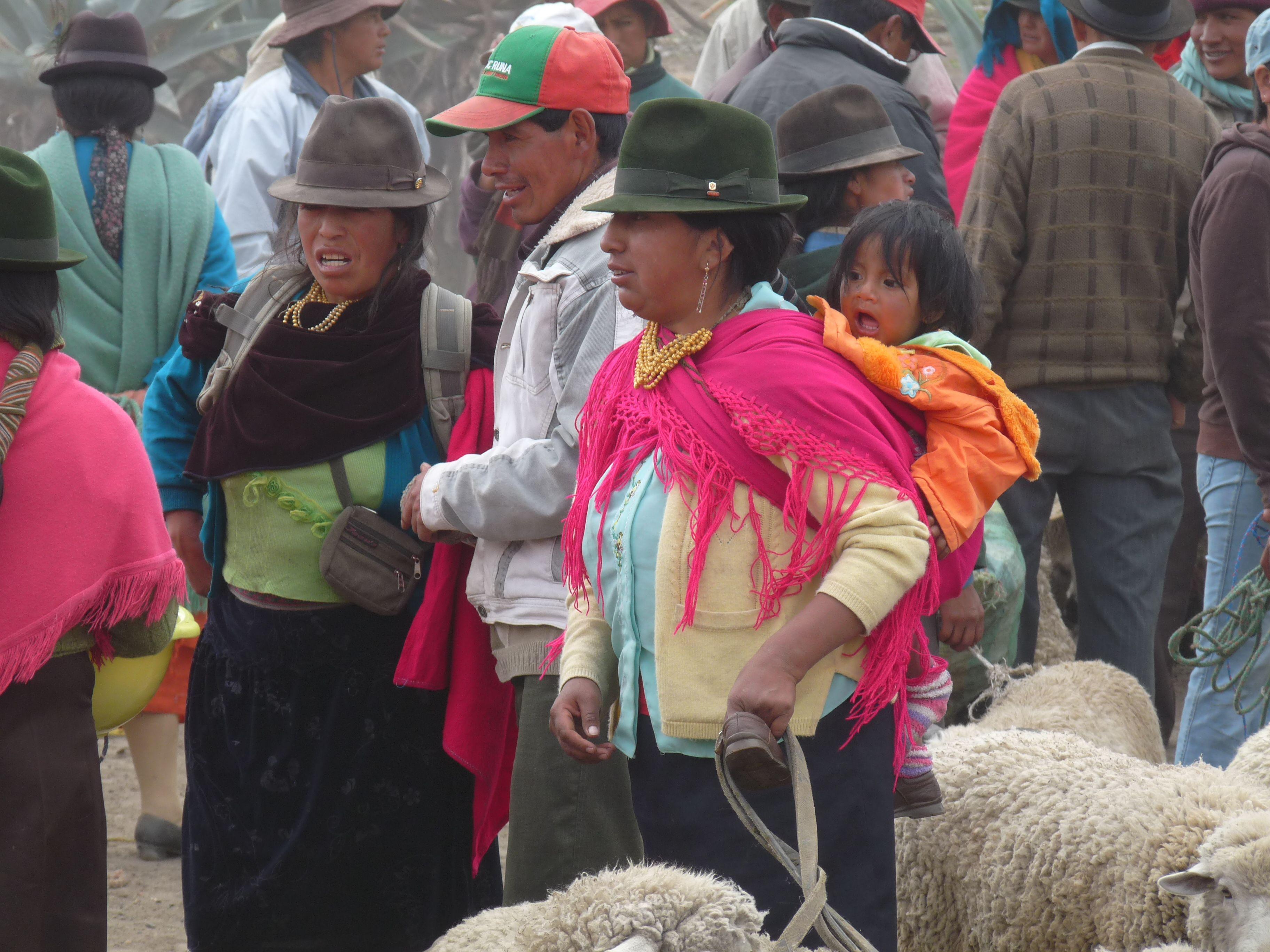 Marché de Salsiqui - Equateur