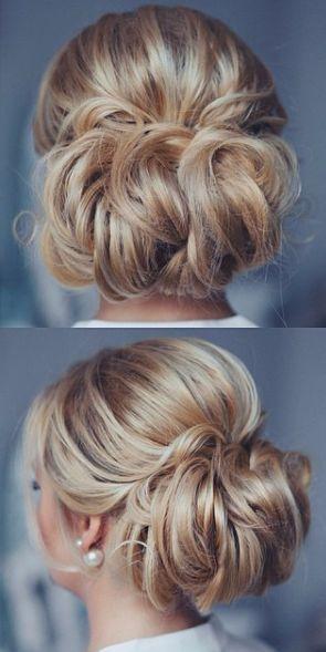 tonya pushkareva wedding hairstyle