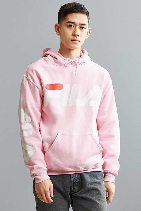 b2f4140da019 FILA Script Hoodie Sweatshirt   Hoodies and Pullovers   Sweatshirts ...
