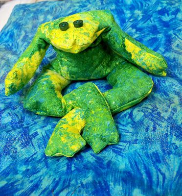 Surprising Frog Bean Bag Pattern Kid Stuff Sewing Toys Bag Inzonedesignstudio Interior Chair Design Inzonedesignstudiocom