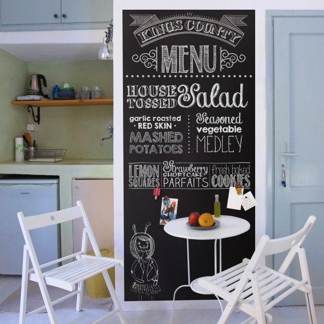 Magnetfolie - #Memoboard selbstklebend - #Küche #Wantattoo #Wantatoo - wandbilder für küche