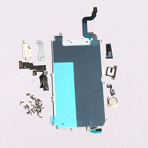 awesome Screen LCD Metal Bracket Front Camera Flex Cable Small Parts Replacement for Iphone 6