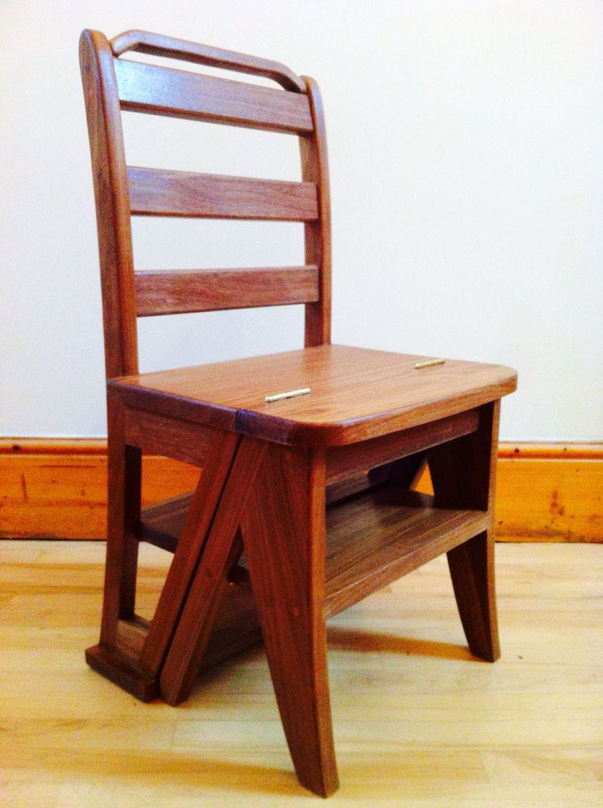 Superieur Benjamin Franklin Library Chair Reproduction. Made From Reclaimed African  Teak.