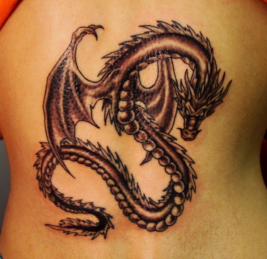 Chinese Dragon Tattoos For Women Dragon tattoo for women