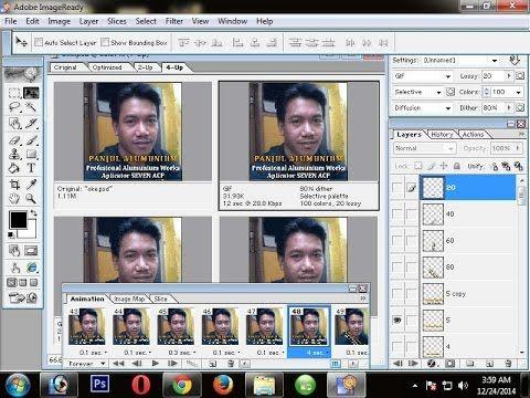 Cara Membuat Dp Bbm Bergerak Foto Dan Tek Dengan Adobe Photoshop