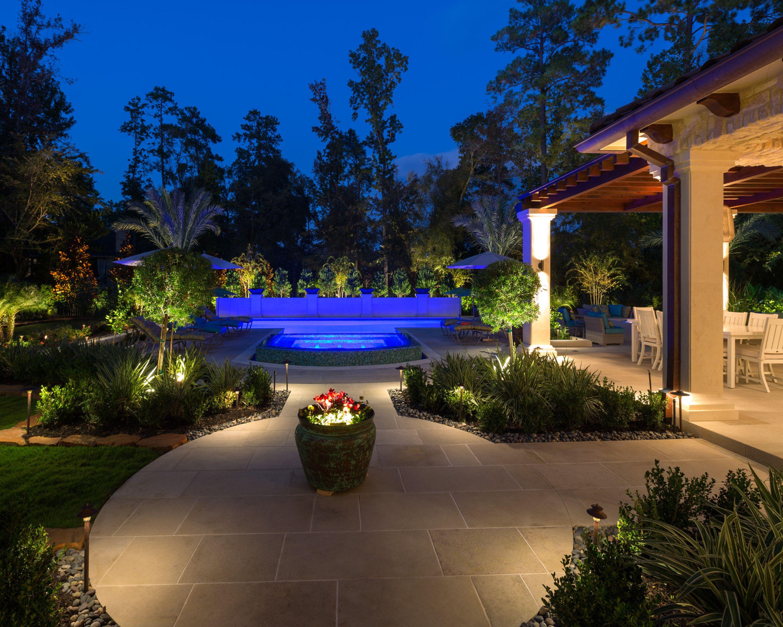 Outdoor Living Lighting Project Brandon Kuehler Clvlt Cold Light It Right Carlton Woods Outdoor Living Landscape Lighting