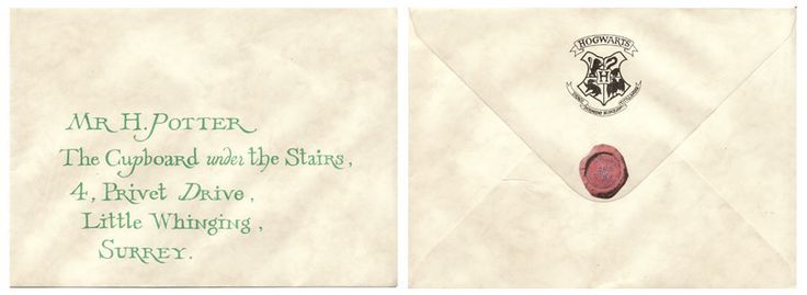 Harry Potter Acceptance Letter Movie
