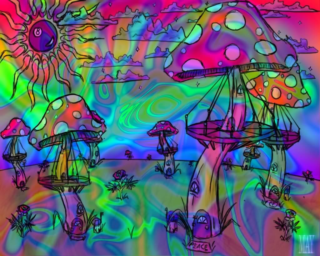 Hippie Pictures Weed
