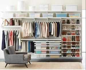 Everything You Need To Tackle Closet Organization In One Checklist.:  Accessories Organization + Storage