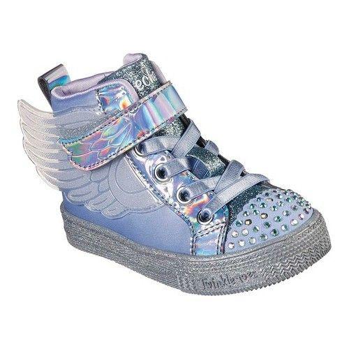 InfantToddler Girls' Skechers Twinkle Toes Shuffle Lite Lil