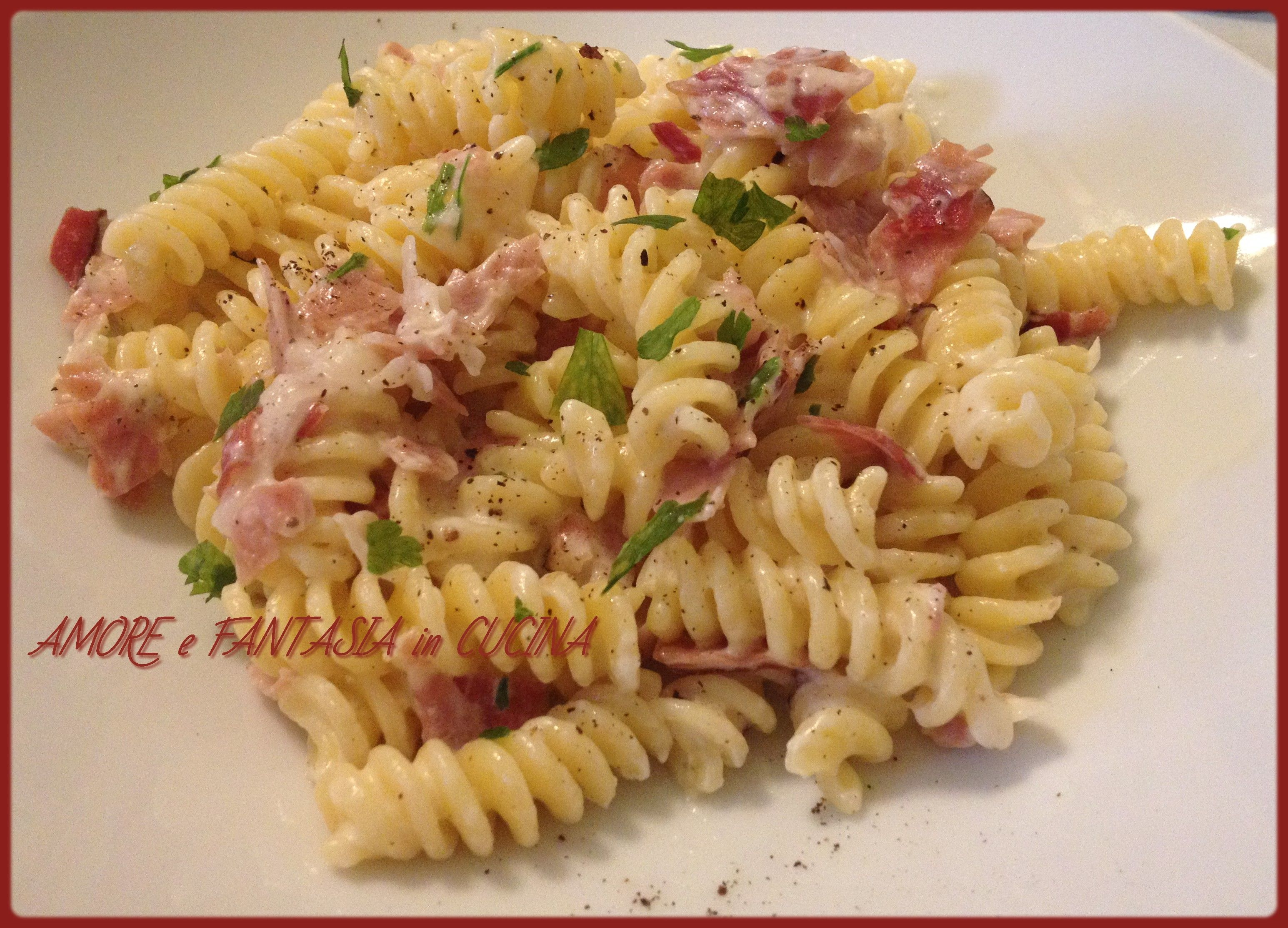 pasta speck e philadelphia | pasta, philadelphia and olives - Pasta Veloce Da Cucinare