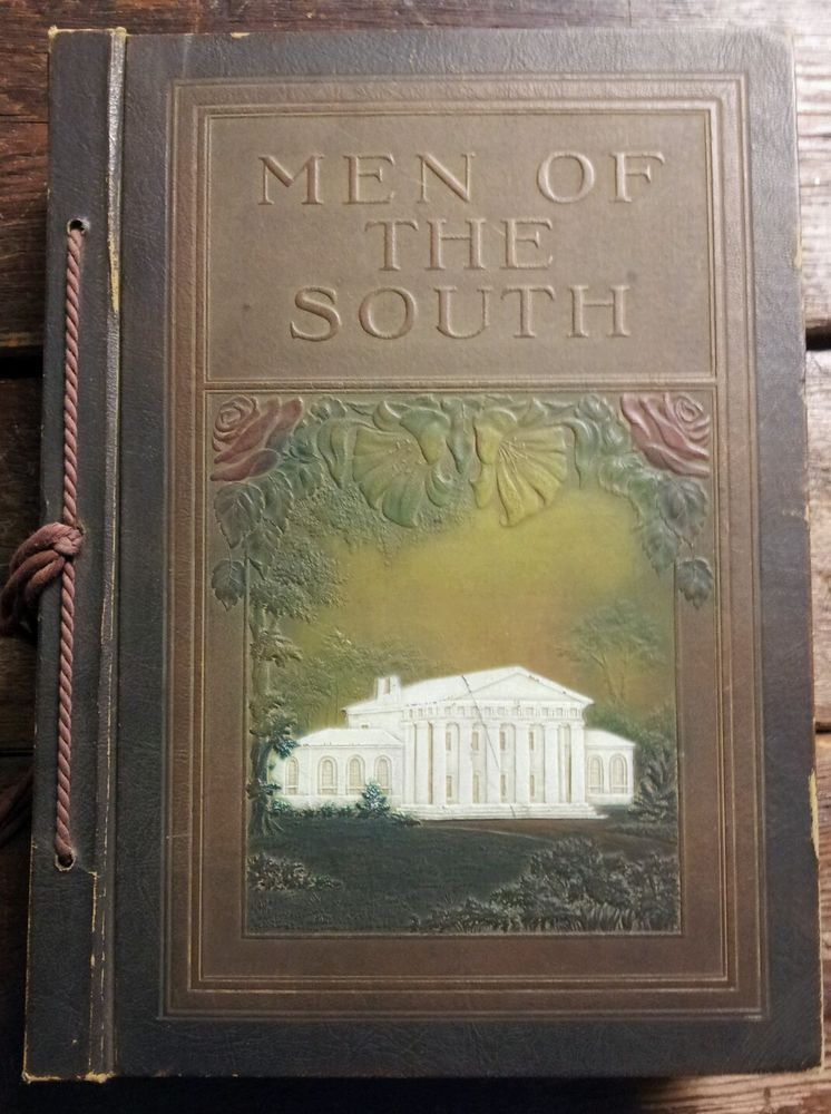 Rare 1922 men of the south leather bound press reference book civil rare men of the south leather bound press reference book civil war soldiers ccuart Images