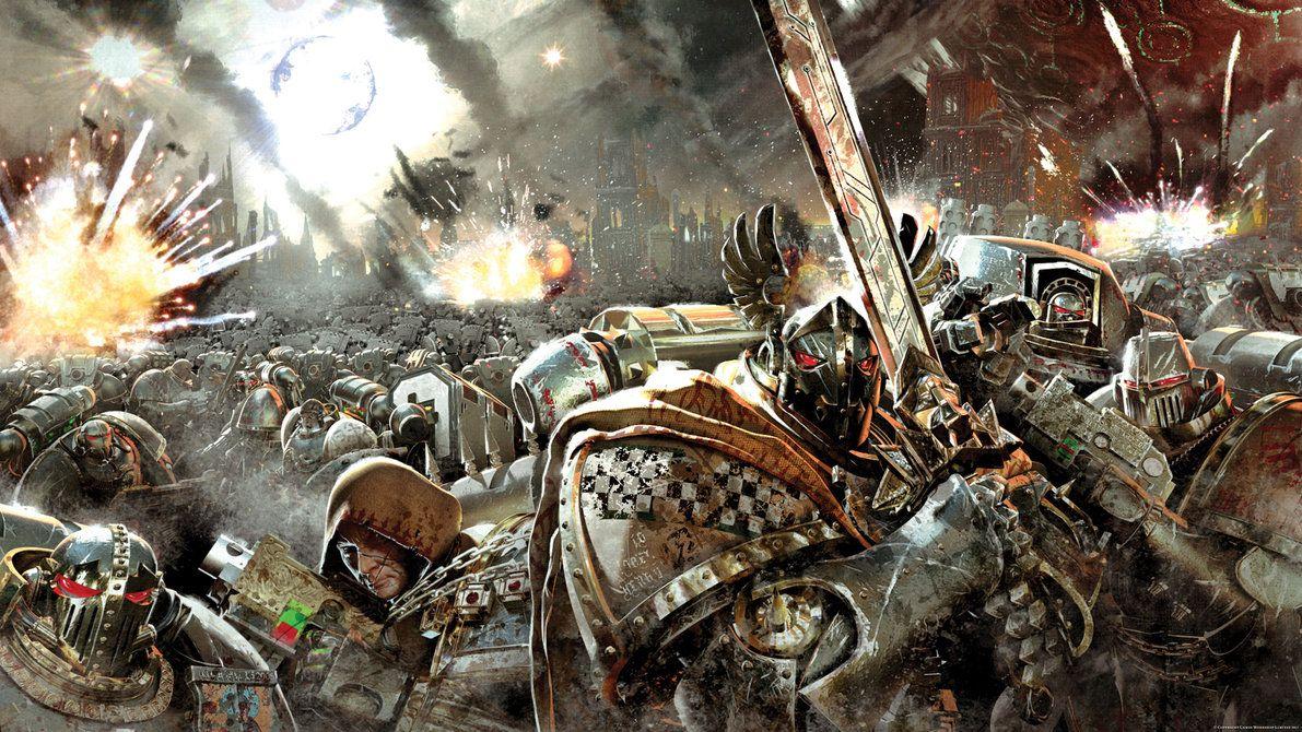 Pin By Will Davis On Horus Heresyamazing Warhammer 40k