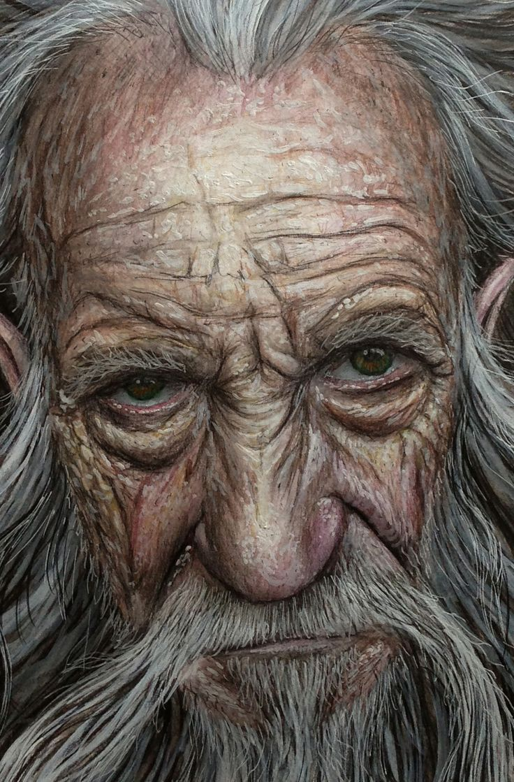 Color Pencil Drawing | Old faces, Interesting faces, Face ...