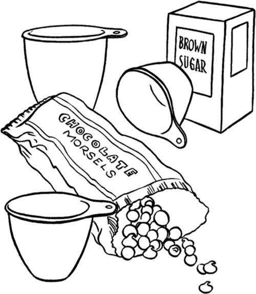 Chocolate Cake Coloring Page Candy Coloring Pages Coloring Pages Thanksgiving Coloring Book