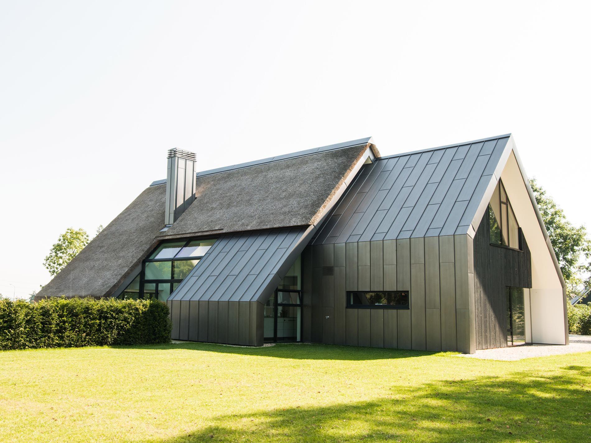 Maas architecten woonhuis peize gaaf architectuur for Hedendaagse architecten
