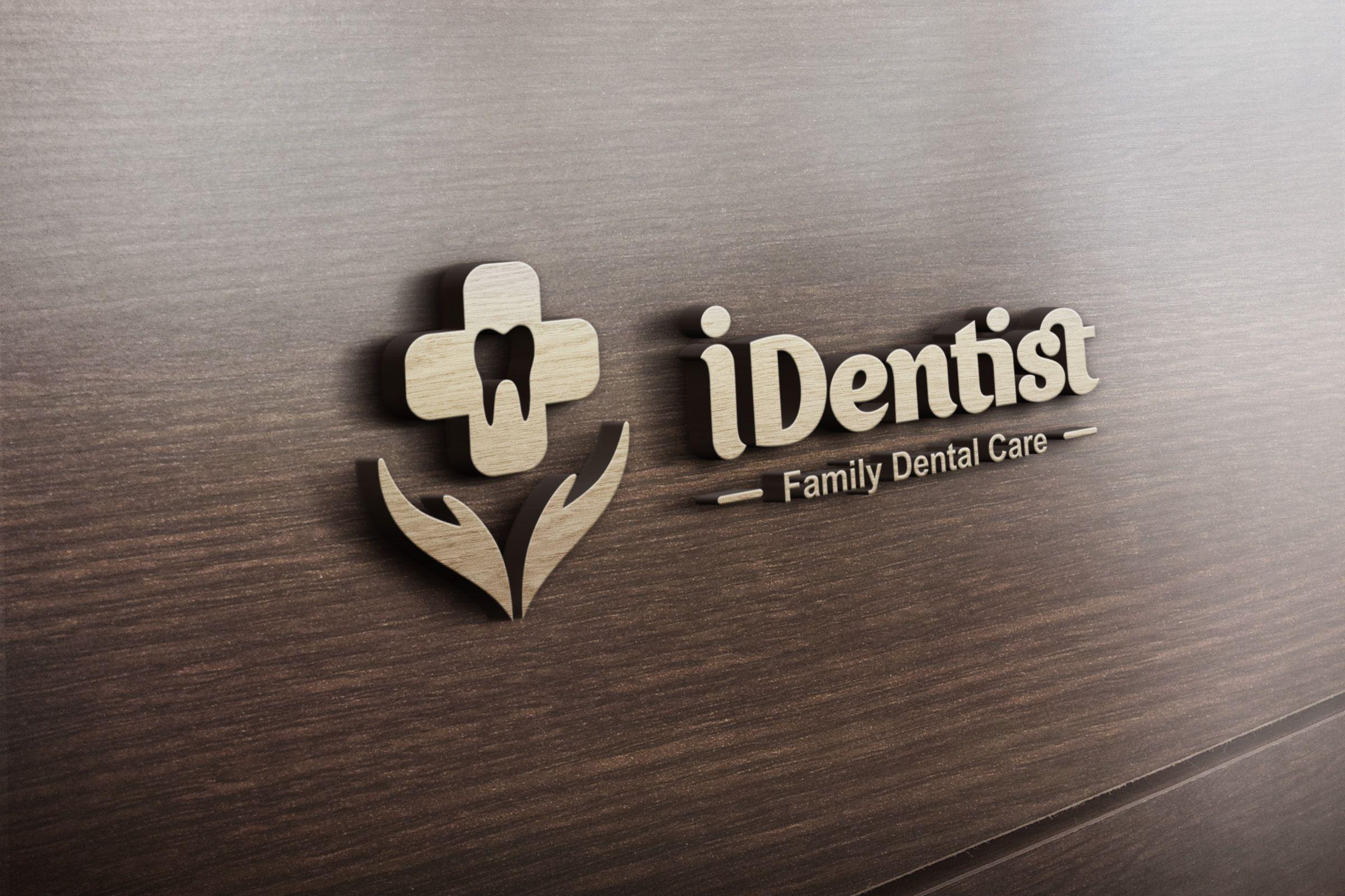 A family dental clinics logo @Tangsel | Hanya Hoby | Pinterest