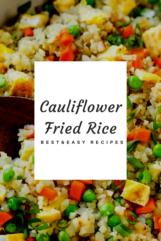 Tasty Cauliflower Fried Rice