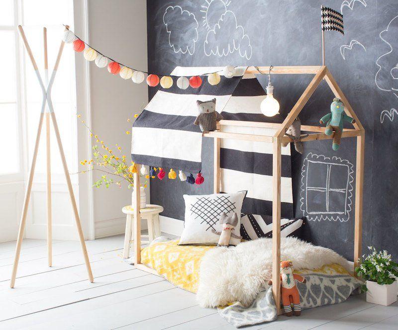 lit enfant original à fabriquer soi-même et idées de customisation