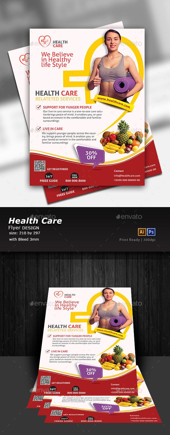 Nutrition Flyer Template Psd Vector Eps Ai Illustrator Flyer