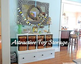 Hidden Toy Storage In Family Room Organized Life
