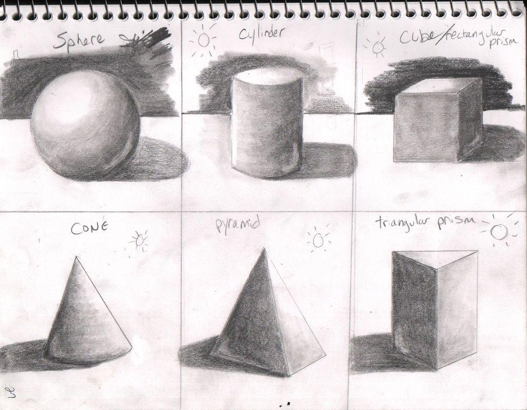 Image Result For Shading Forms Worksheet