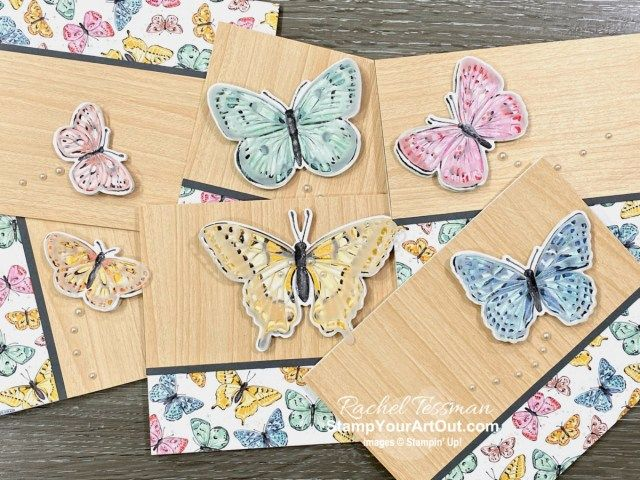 Butterfly Brilliance Collection Card Set