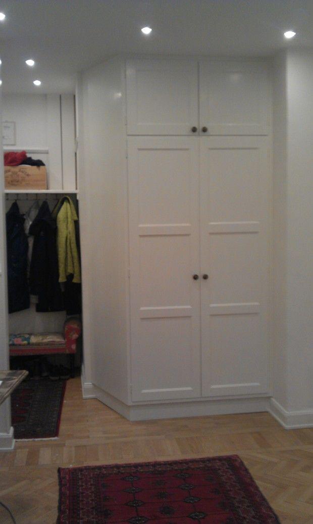 garderober med skjutdörrar