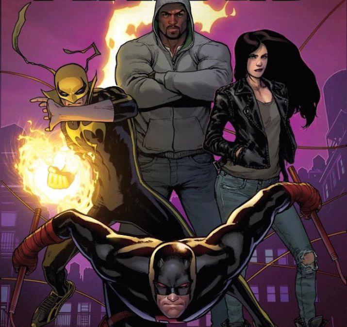 Marvel Reveals New Defenders Comic With Netflix Lineup Okayplayer