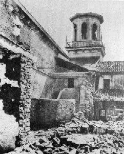San Juan Bautista - post 1906 San Fransisco earthquake ...