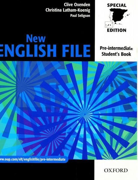 2º Ingles New English File Pre Intermediate Student S Book Http Encore Fama Us Es Iii Encore Record C Rb1994060 Lang Spi Workbook English File Student