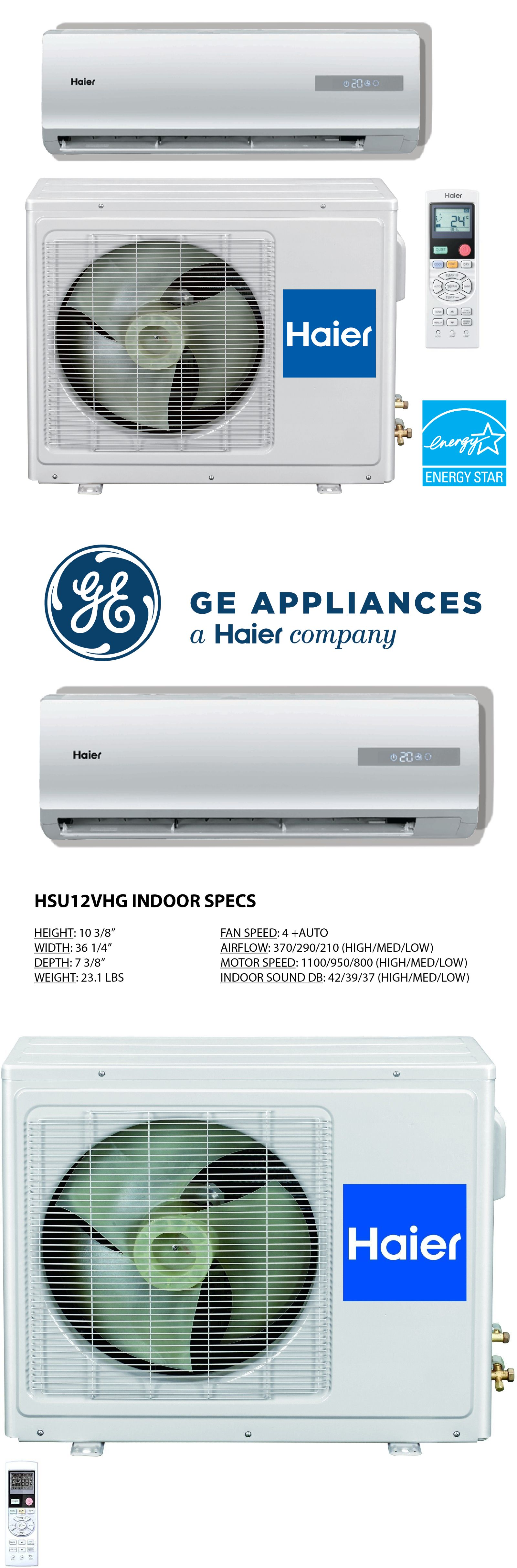 Central Air Conditioners 185108 20 Seer Haier Ductless