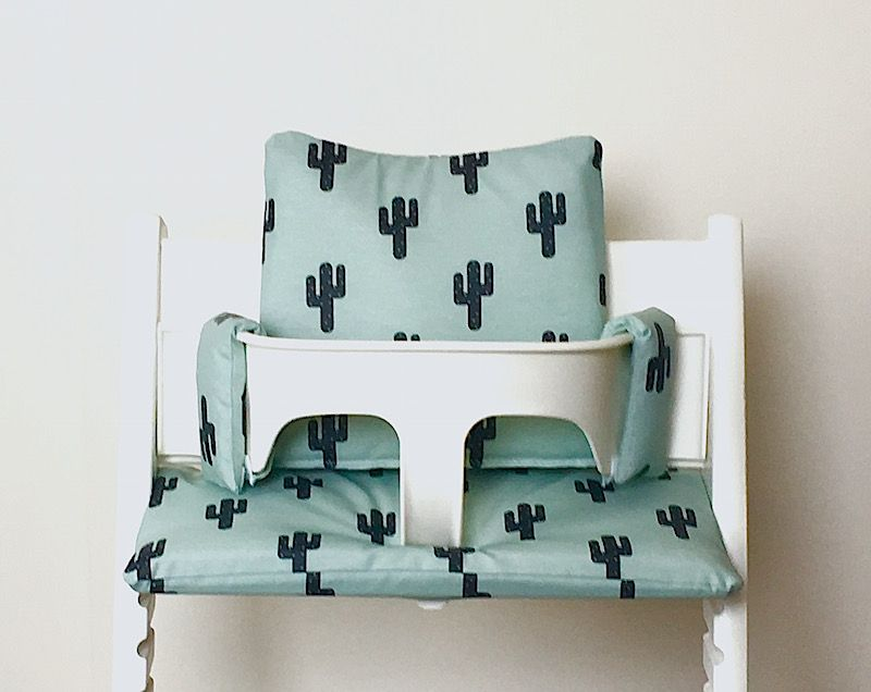 Stokke Kinderstoel Houten Beugel.Hippe Gecoate Kussens Voor De Stokke Tripp Trapp Stoel Deze