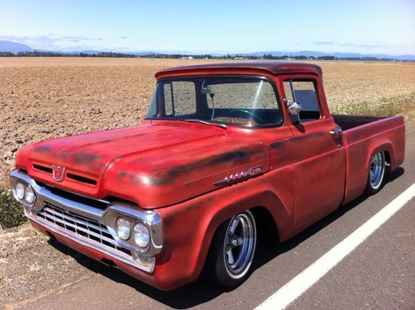 1960 Ford F100 Pickup Truck With Images Classic Trucks