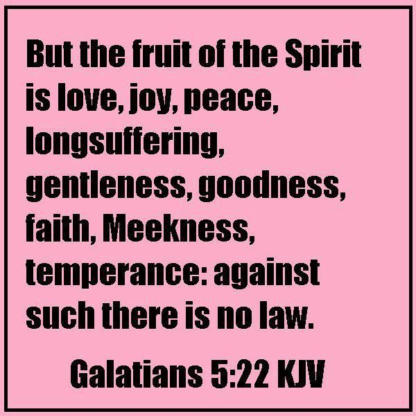 Galatians 5 22 Kjv Fruit Of The Spirit Holy Spirit Of God Yahweh This Means Love Joy Peace Patience During A Simple Prayers Fruit Of The Spirit Kjv