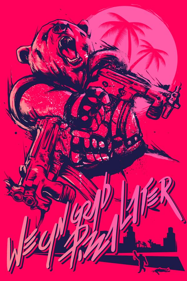 Hotline Miami 2 Fan Art Hotline Miami Miami Posters Miami Art