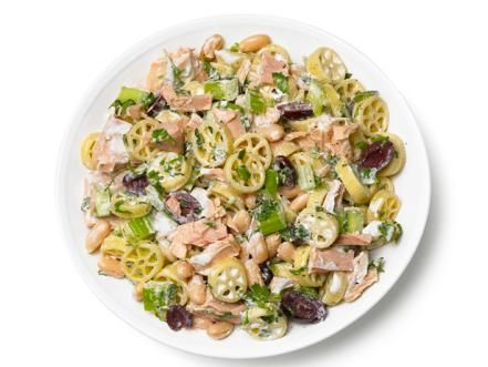Mix and match pasta salad ideas food network pasta salad bring a new pasta salad to every cookout this summer with food network magazines customizable recipe forumfinder Image collections