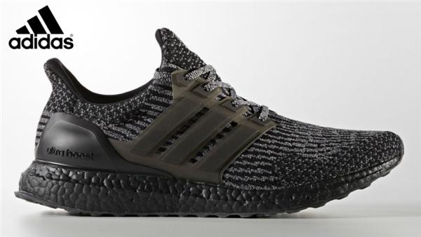 23e267a7e665a Men s Adidas Ultra Boost 3.0 LTD Running Shoes Black Silver BA8923 ...